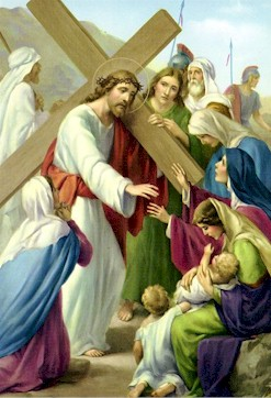 The Women Of Jerusalem Weep Over Jesus